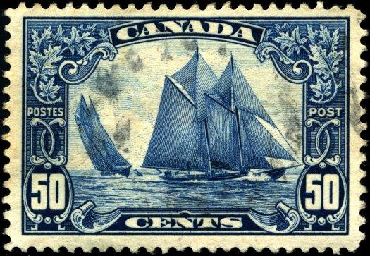 Stamp_Canada_1929_50c_Bluenose